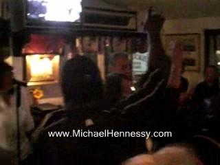 Michael sings, Da Butt at The Black Cat.