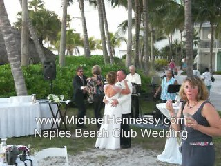 Michael sings, Amazed at The Naples Beach Club, Naples FL.