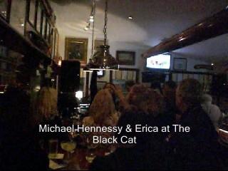 Erica sings, It's Raining Men.
